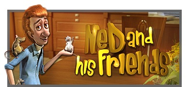 Ned and his friends slot logo