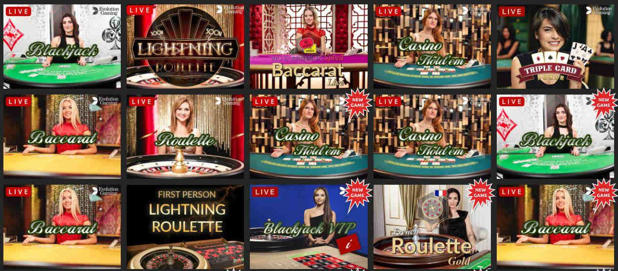 snabbis live kasino