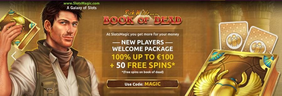 Slotsmagic welcome bonus