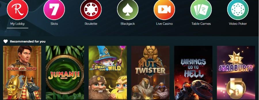 Rolla Casino screenshot