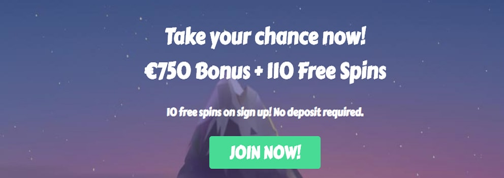 mychance casino exclusive offer at casinotopsonline.com