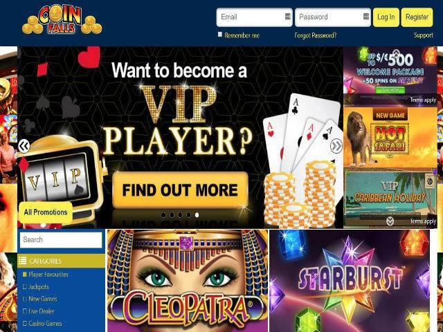 Visit Coin Falls Casino