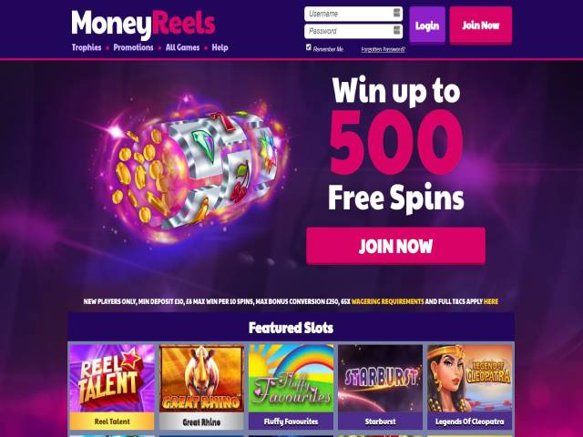Visit MoneyReels Casino