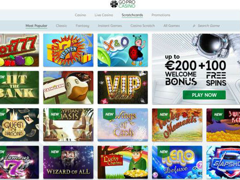 Visit GoPro Casino
