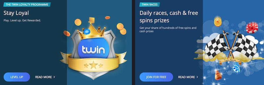 Twin Casino 娱乐场欢迎礼金及促销活动