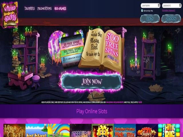 Visit Wizard Slots