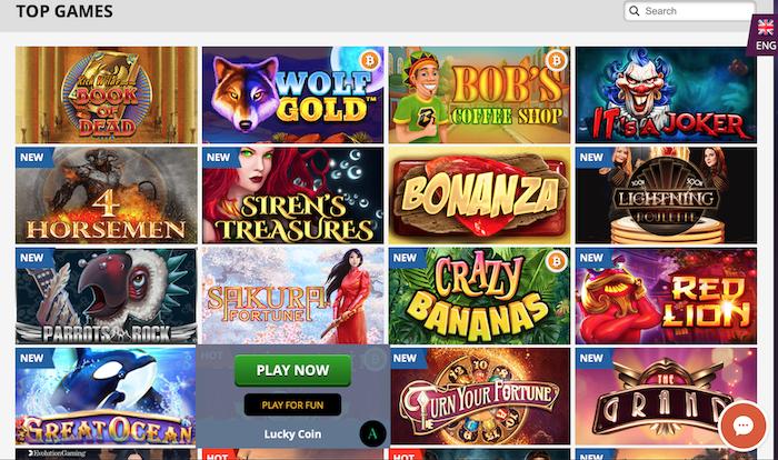 「PlayAmo Casino」在线娱乐场