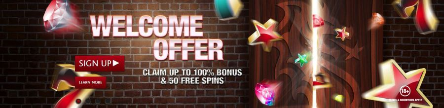 Dragonara Casino welcome bonus