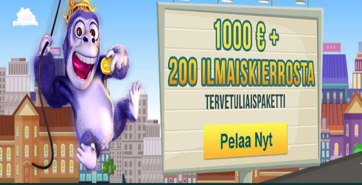 Luckland casino bonus ja ilmaiskierrokset