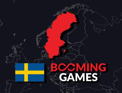 Sverige och booming games casino