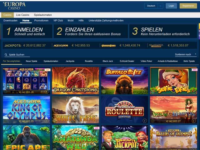 Europa-Casino-Test