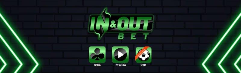 inandout bet casino homepage