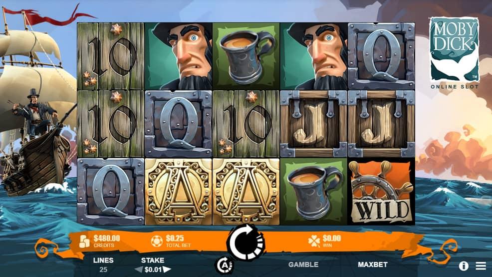 Онлайн-слот от RabCat Moby Dick