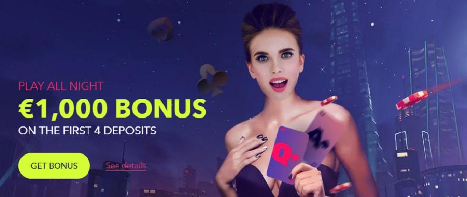 Nightrush casino welcome offer