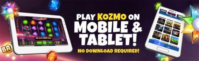 Kozmo-Casino-mobil-app