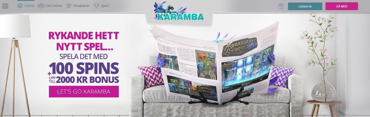 bild på karamba casino hemsida 2