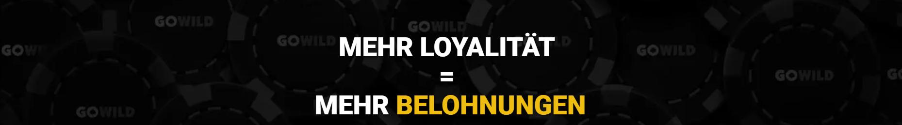 GoWild Casino Loyalität