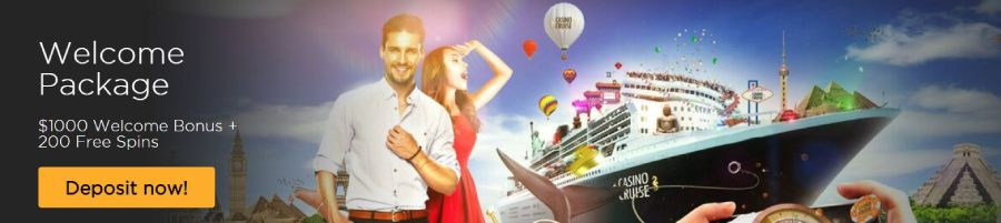 Casino Cruise welcome package