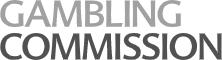 UK Gambling Commission logo in grey
