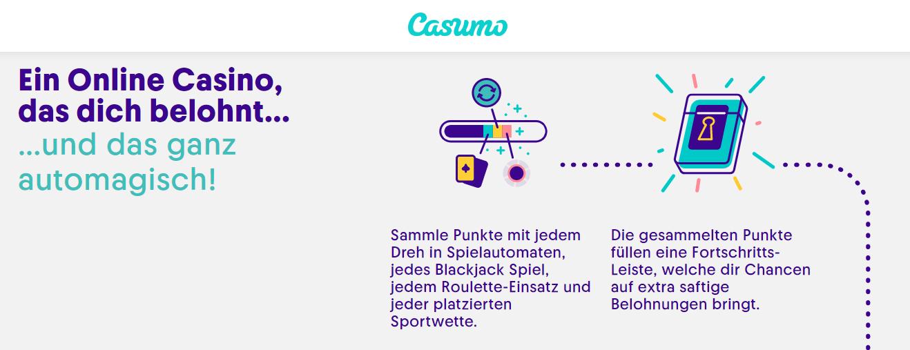 Casumo Casino Vorteile