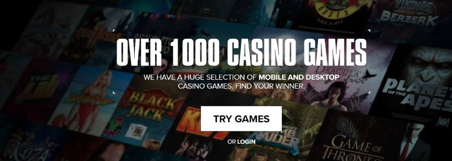 Over 1000 games at Kaboo Casino