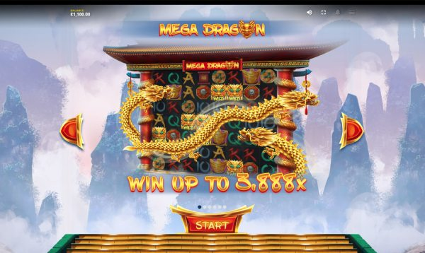 Mega Dragon Red Tiger slot win