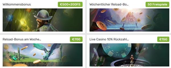 CampoBet Casino Bonusangebote