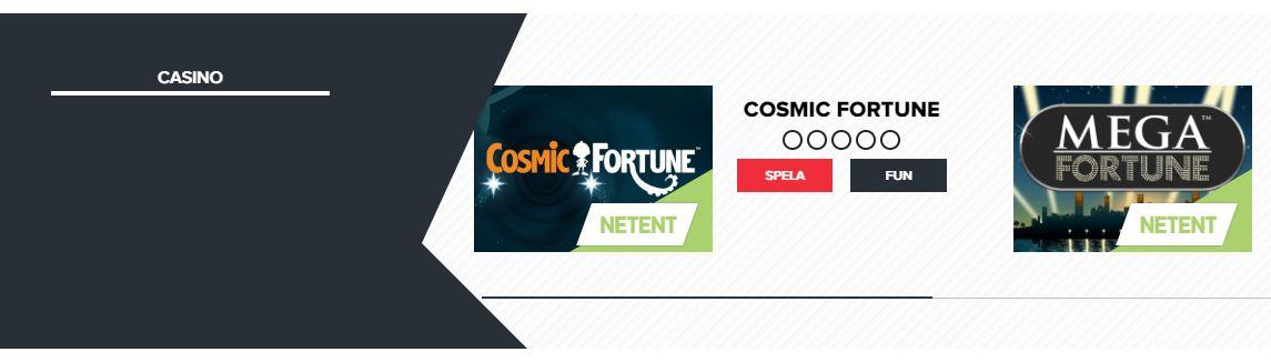 legolas bet casino med fler spel produkter på sidan