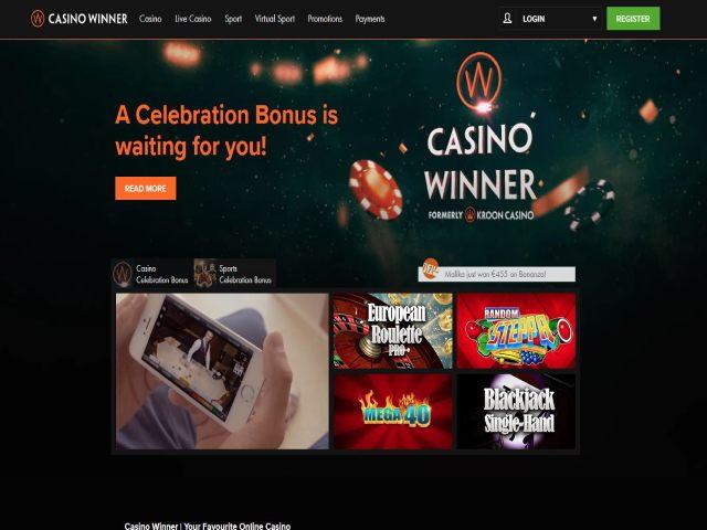 Visit Casino winner