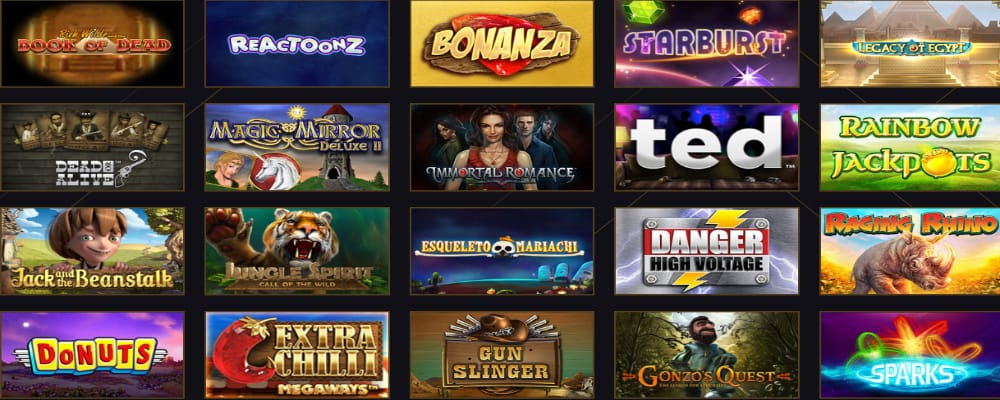 21 Casino site screenshot