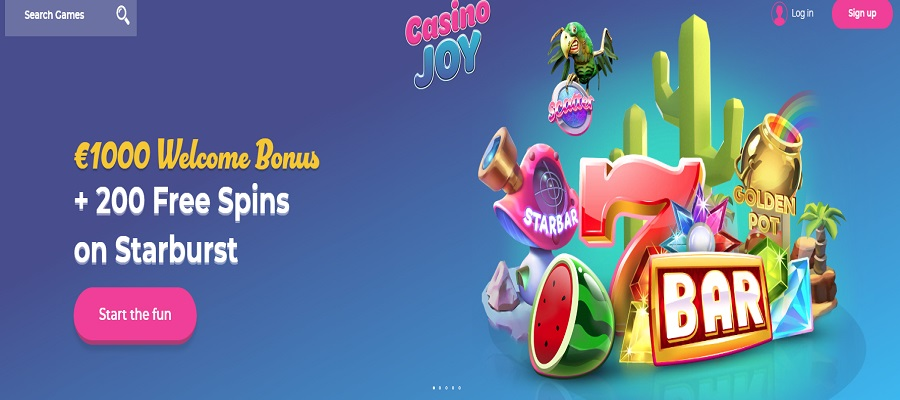 casino joy welcome offer