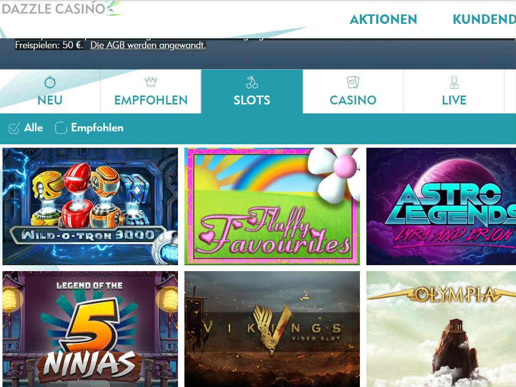 Visit Dazzle Casino