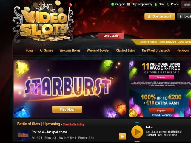 Visit VideoSlots