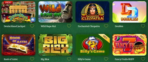 OnlineCasino-Deutschland-Spielautomaten