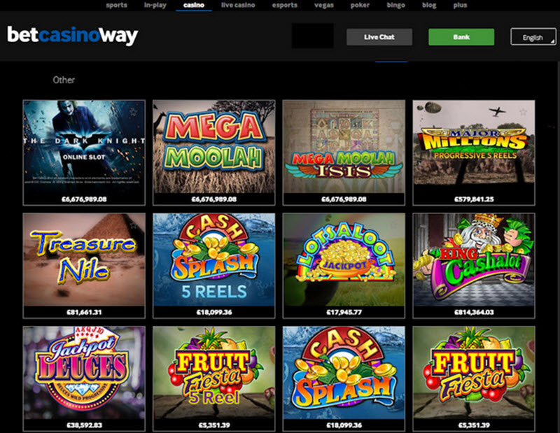 Visit Betway Casino
