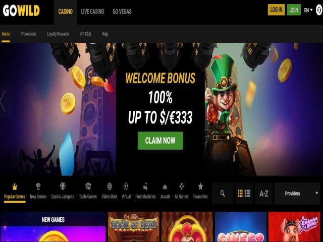 Visit GoWild casino