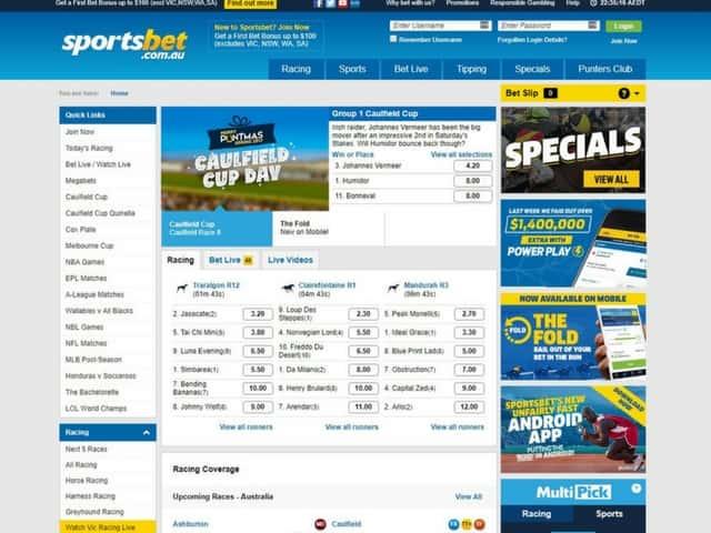 Visit Sportsbet Sports