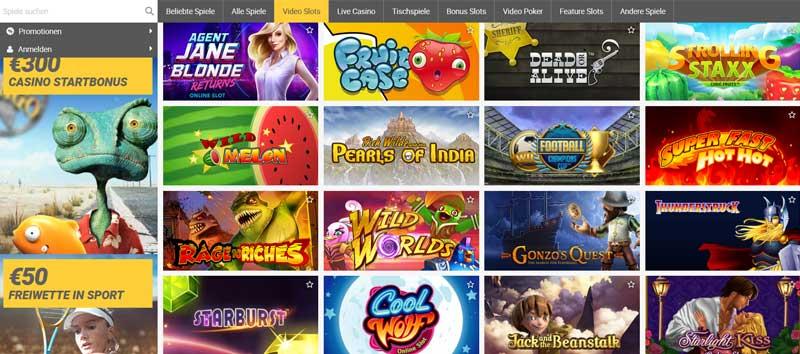 ReloadBet-Casinospiele
