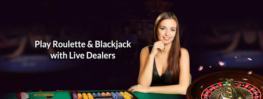 Live Dealer at SlotsMagic