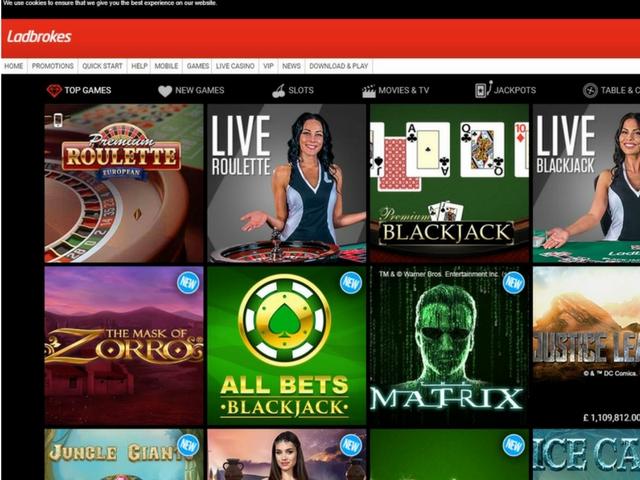 Visit Ladbrokes Casino