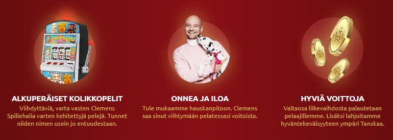 clemens casino suomalainen kasino