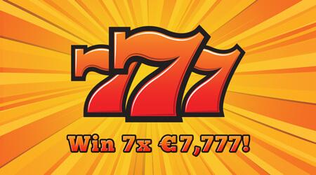 Triple 777 scratch card