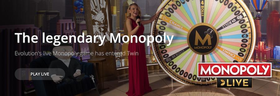 Twin Casino 棋牌游戏及真人荷官赌场游戏