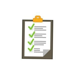 New Online Casinos - Clipboard with checklist