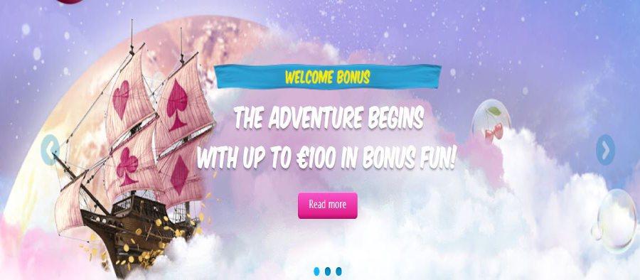 Welcome Bonus Vera & John
