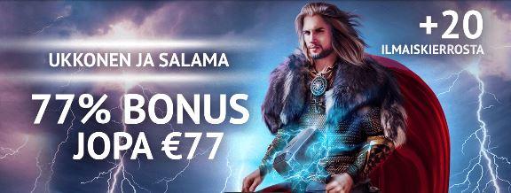 7 gods casino tervetulobonus