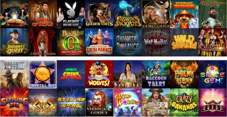 Игры онлайн-казино Вулкан Вегас