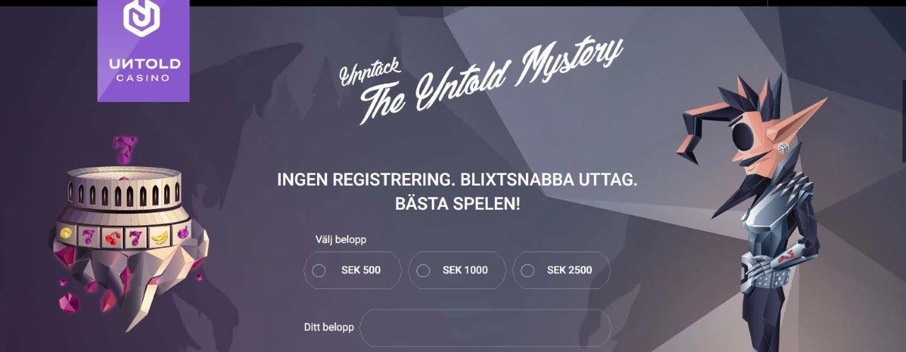 bild från svenska casino sidan med casino bonus