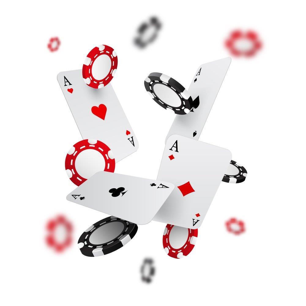 kort och casino marker