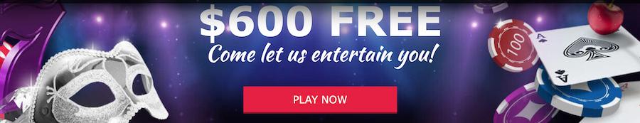 Cabaret Club Casino 礼金及促销活动